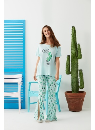 Dagi Pijama Takım Yeşil